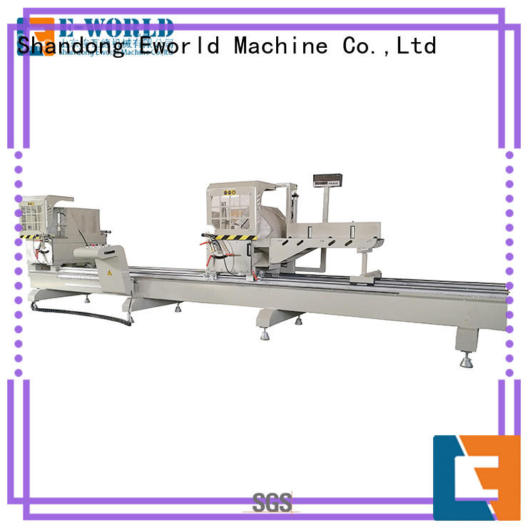 trade assurance upvc and aluminum window machine head OEM/ODM services for global market