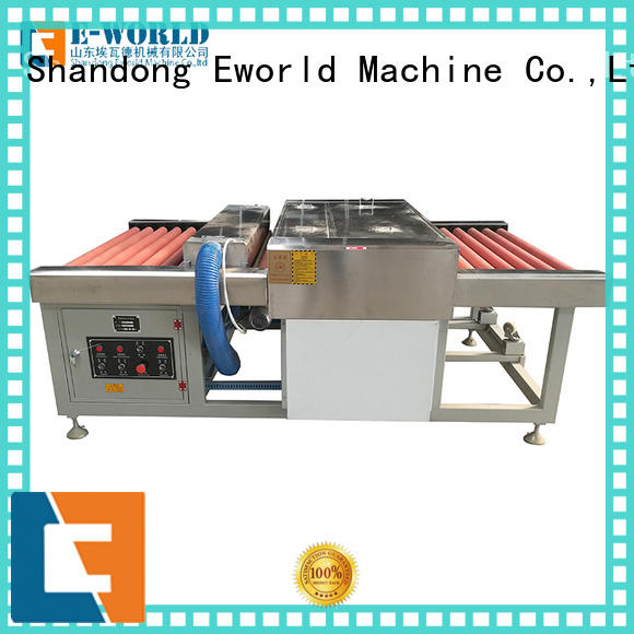 Eworld Machine top glass washing and drying machine supplier for manufacturing