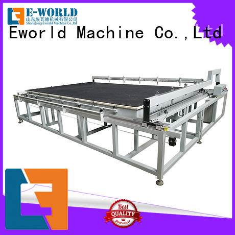 Eworld Machine reasonable structure glass cutting tilting table dedicated service for machine