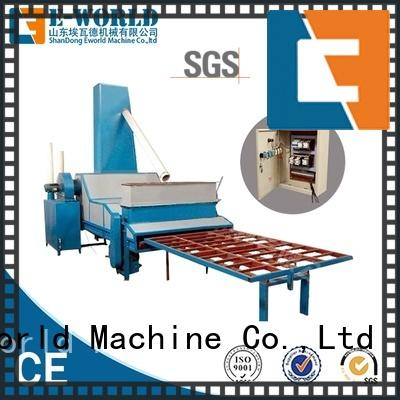 Eworld Machine inventive automatic glass sand blasting machine factory price for manufacturing