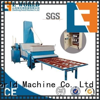Eworld Machine inventive automatic glass sand blasting machine factory price for manufacturing