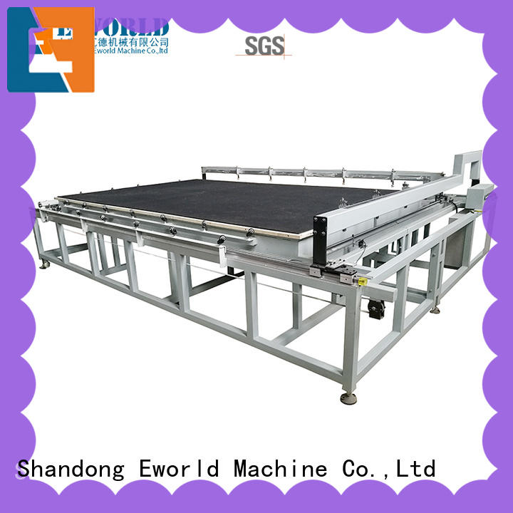Eworld Machine round glass cutting table for sale foreign trader for industry