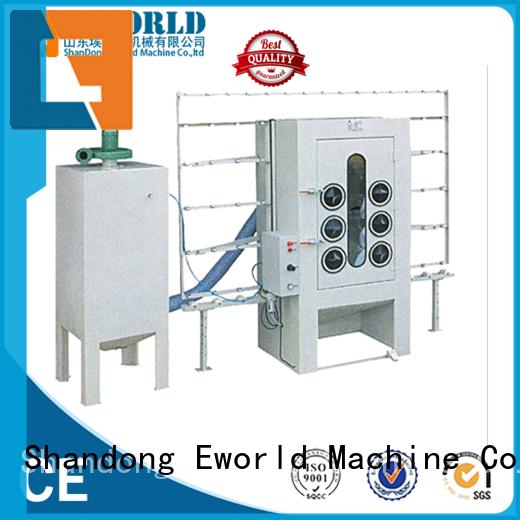 Eworld Machine manual automatic sandblasting machine manufacturers factory for industry