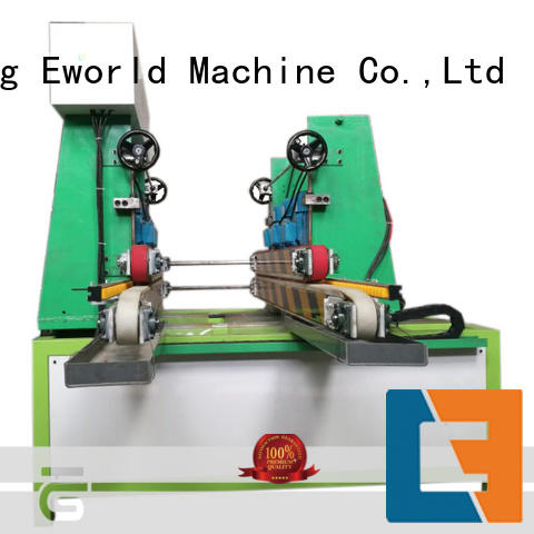 Eworld Machine processing small glass beveling machine supplier for global market