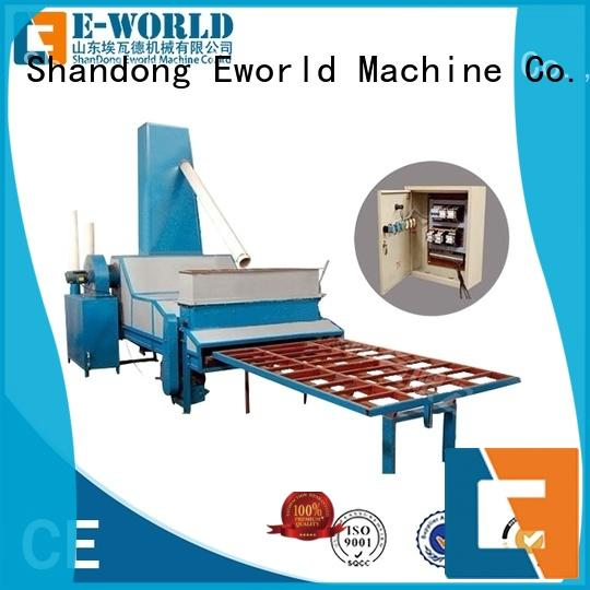 Eworld Machine glass automatic glass sand blasting machine from China for manufacturing