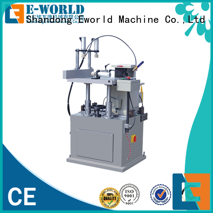 Eworld Machine saw aluminium window crimping machine supplier for industrial production