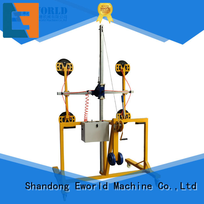 Eworld Machine curved glass loading unloading lifter terrific value for distributor