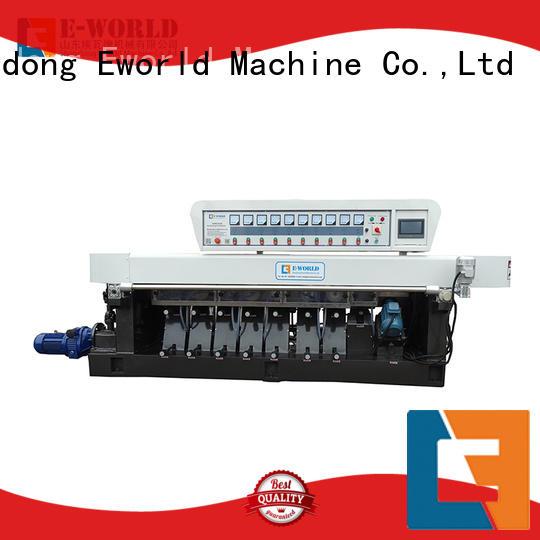 Eworld Machine trade assurance glass edge polishing machine manufacturer for industrial production