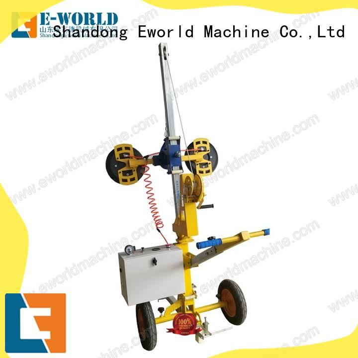 Eworld Machine unique design glass lifting machine for distributor