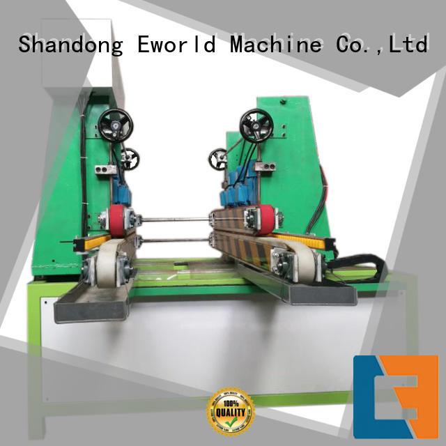 Eworld Machine edge flat glass edging polishing machine manufacturer for global market