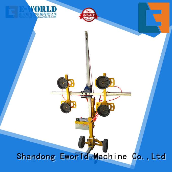 Eworld Machine installation glass lifting machine supplier for distributor