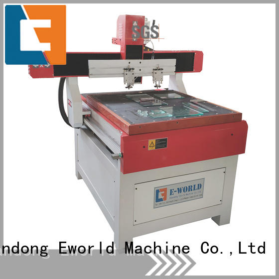 Eworld Machine stable performance glass cutting machine foreign trader for sale