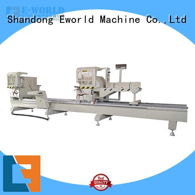 Eworld Machine trade assurance aluminum window door assemble machine manufacturer for global market