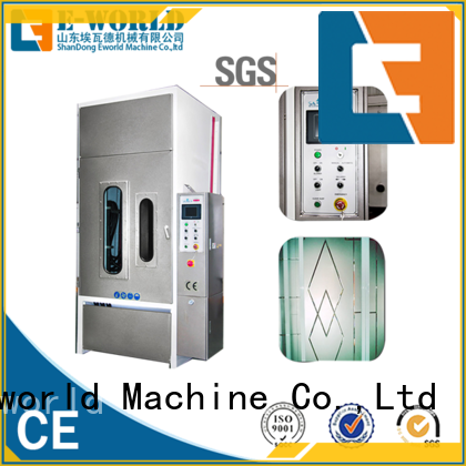 Eworld Machine low moq auto sandblasting machine factory for manufacturing