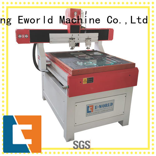 Eworld Machine shaped manual mosaic glass cutting table dedicated service for machine