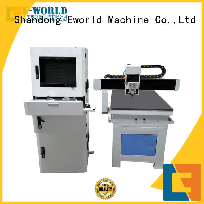 Eworld Machine shaped automatic glass cutting machine dedicated service for machine