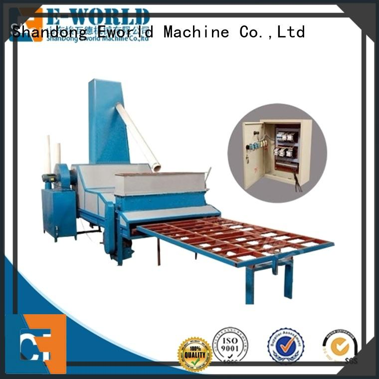Eworld Machine low moq sandblasting glass machinery from China for industry