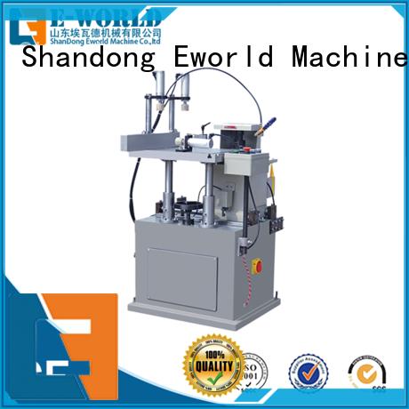 Eworld Machine milling aluminum windows hardware punching machine supplier for manufacturing