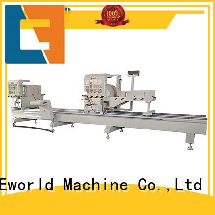 Eworld Machine fine workmanship aluminum crimping machine windows for global market