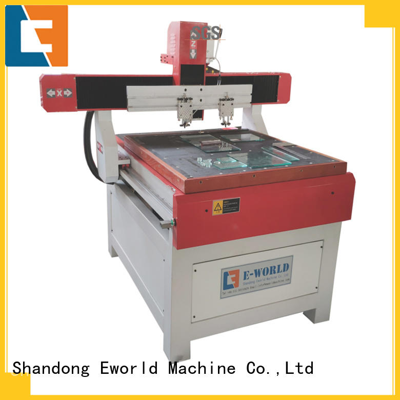 Eworld Machine good safety glass cutting machine for sale dedicated service for industry