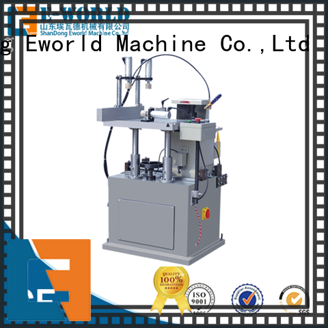 Eworld Machine technological aluminium window crimping machine supplier for industrial production