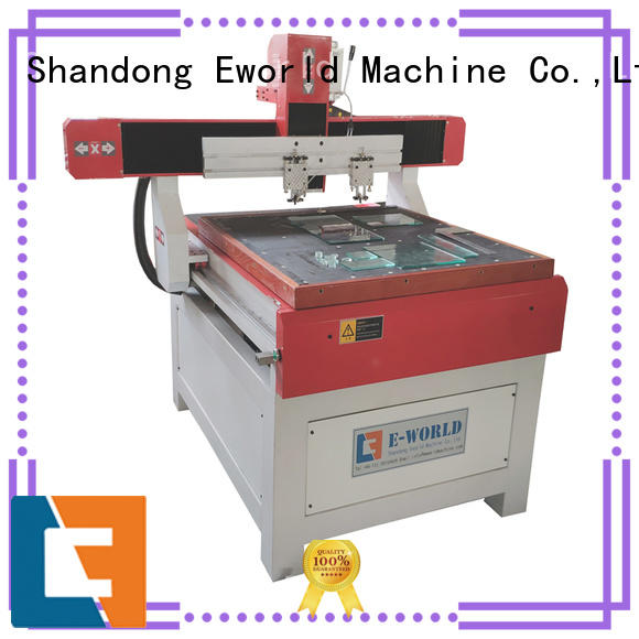 Eworld Machine float table glass cutting dedicated service for sale