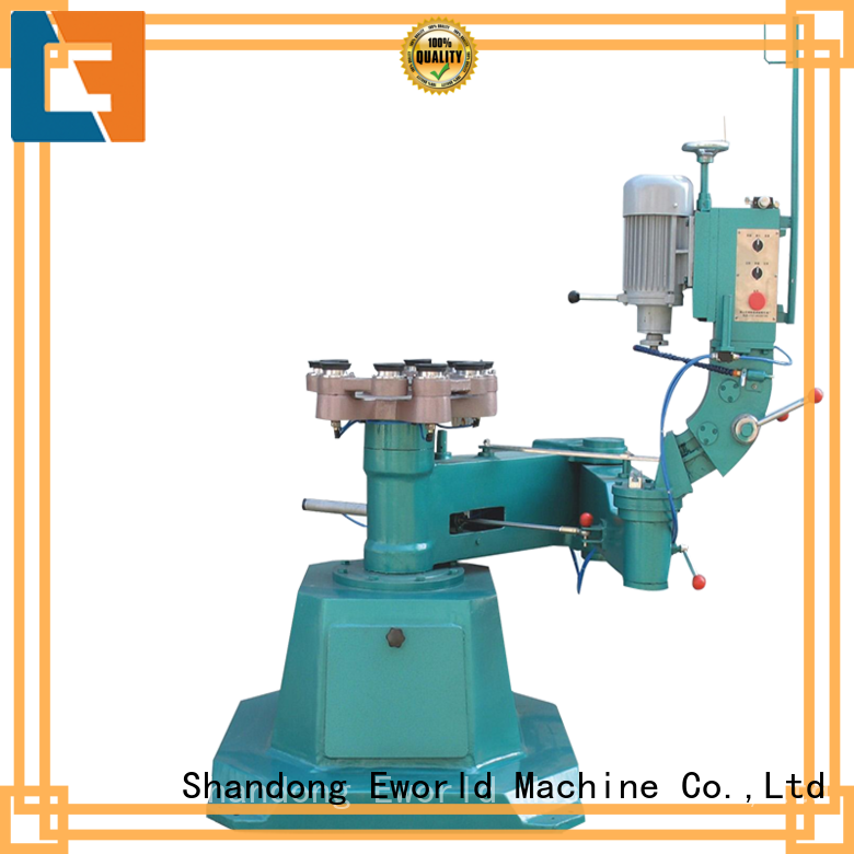 Eworld Machine technological glass shape beveling machine beveling for industrial production