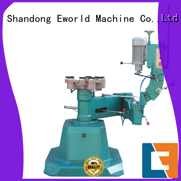 Eworld Machine trade assurance small glass edge polishing machine manufacturer for industrial production