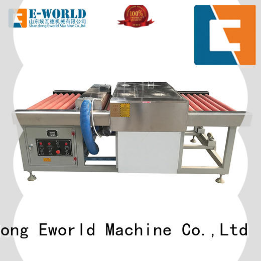 Eworld Machine vertical open top vertical glass washer supplier for industry