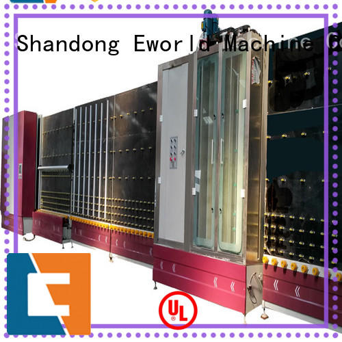 Eworld Machine standardized glass glazing machine factory for industry