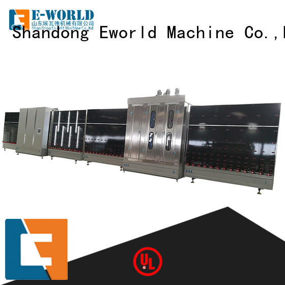 Eworld Machine low moq glass glazing machine provider for manufacturing