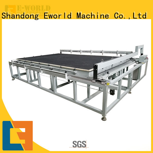 Eworld Machine glass glass cutting equipment foreign trader for machine