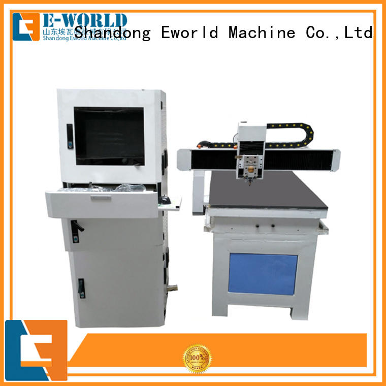 Eworld Machine high reliability glass loading cutting table dedicated service for sale