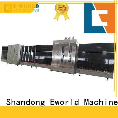 Eworld Machine fine workmanship insulating glass machine factory for manufacturing