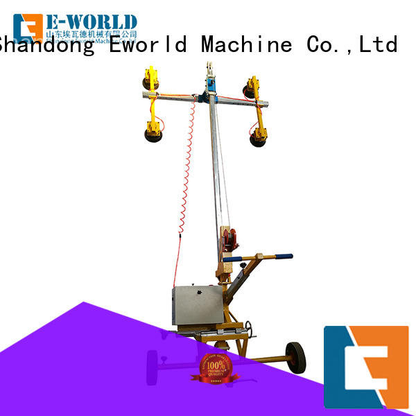 Eworld Machine power dual cup suction lifter supplier for sale