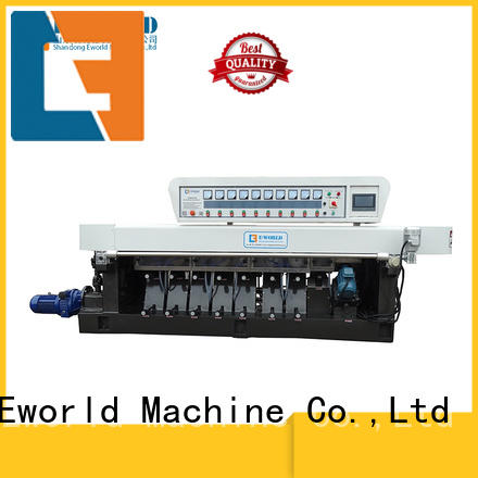 Eworld Machine polishing glass edge chamfer machine manufacturer for industrial production