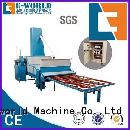 Eworld Machine horizontal sandblasting glass machinery factory for industry