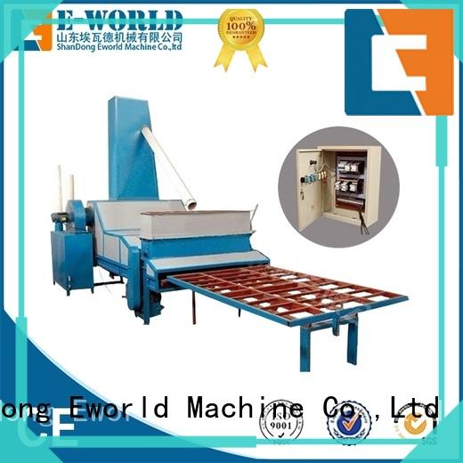 Eworld Machine competitive price furniture glass sandblasted machine factory for manufacturing