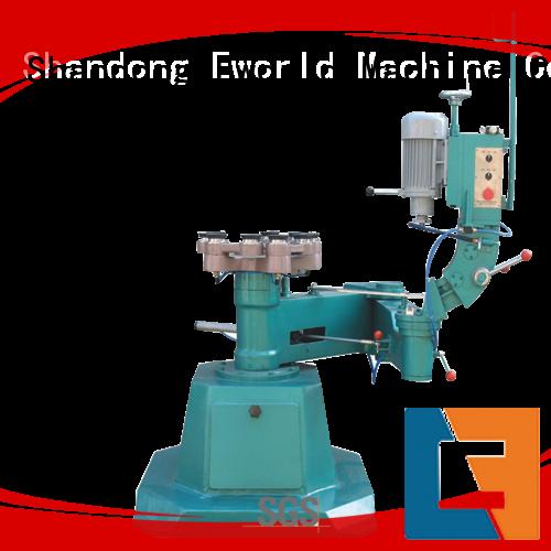 Eworld Machine professional glass edge polishing machine supplier for industrial production