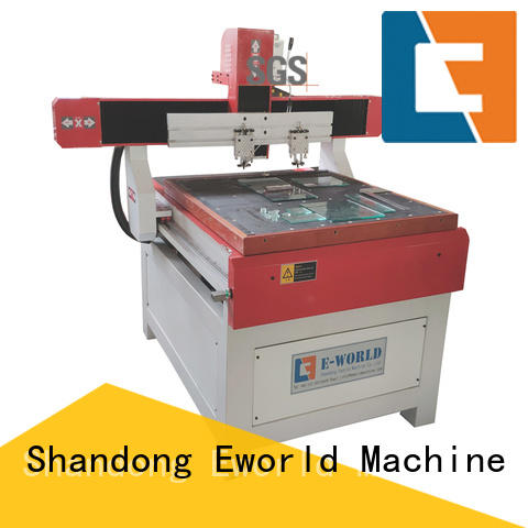 Eworld Machine horizontal arc glass cutting machine dedicated service for sale