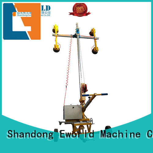 Eworld Machine equipment dual cup suction lifter factory for sale