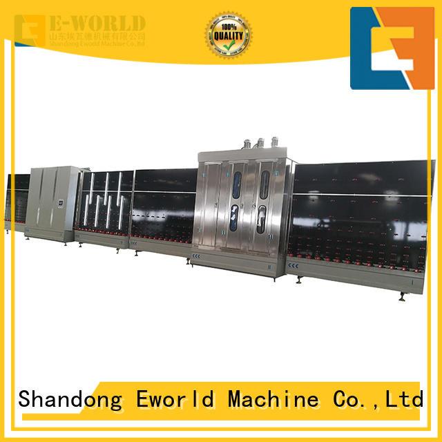 Eworld Machine standardized glass glazing machine factory for commercial industry