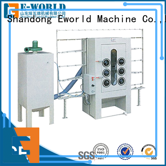 Eworld Machine low moq auto sandblasting machine from China for industry