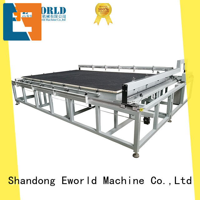 Eworld Machine high reliability small glass cutting machine dedicated service for industry